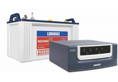Luminous Eco Volt 700 Inverter with Red Charge 15000 Battery