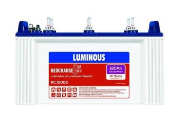 Luminous Red Charge RC15000 Battery
