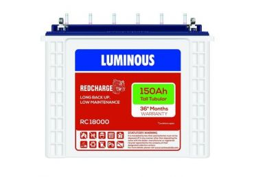 Luminous Red Charge RC18000 Battery