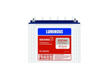 Luminous Red Charge RC25000 Battery