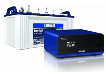 Luminous Zelio 1100 inverter with IL18039 150 Ah Battery combo